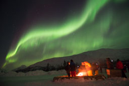 breivikeidet-base-camp-aurora-borealis-northern lights-gift-of-paris
