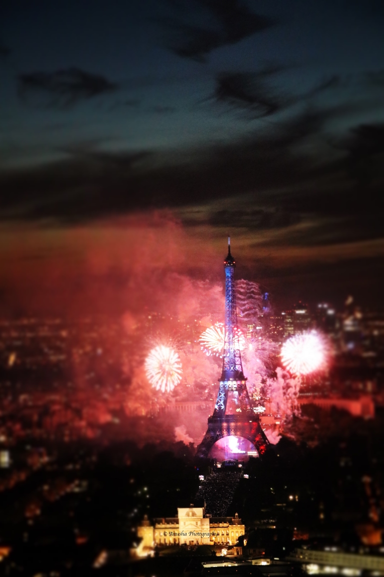 Montparnasse-Eiffel-Tower-Bastille-Day-evening-with-the-Iron-Lady-of-France-giftofparis.com