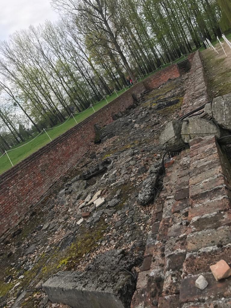 Auschwitz-Birkenau-site of Gas Chamber in Auschwitz II-giftofparis.com