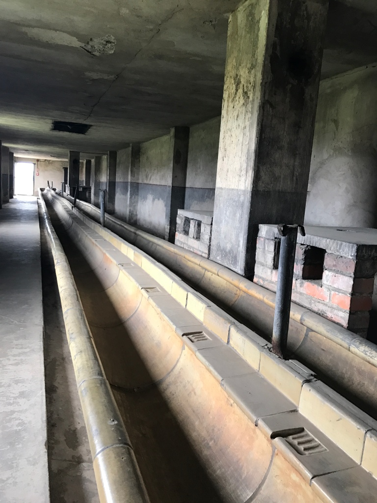 Auschwitz-Birkenau-Concentration Camp nazi-bath place-hygiene-poland-giftofparis.com