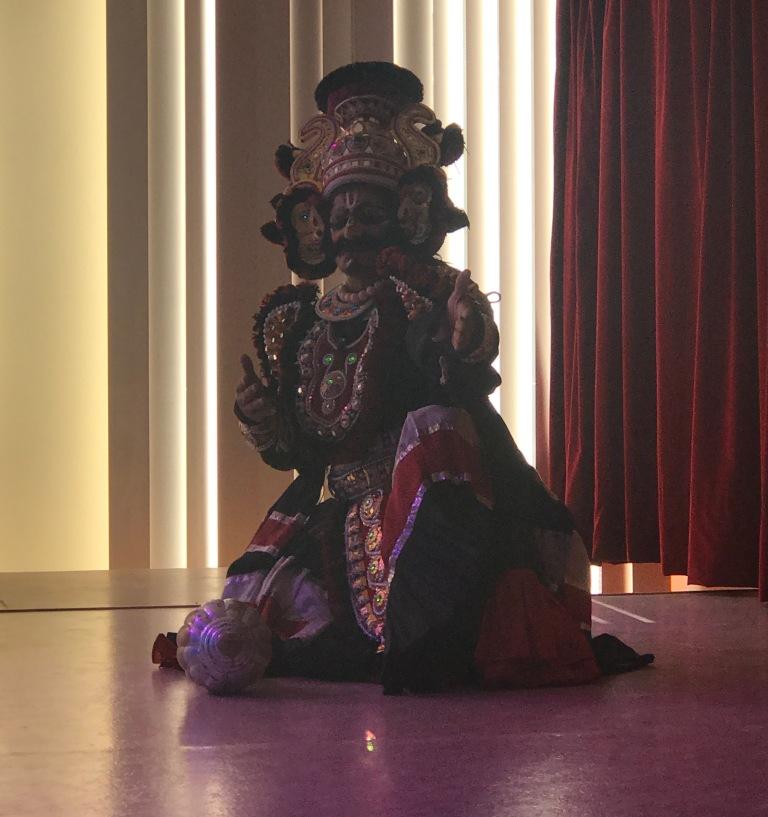 Yakshagana-Venkateshwara-Moorthy-Filliozat-India-Sanskrit-Day-in-Paris-giftofparis.com