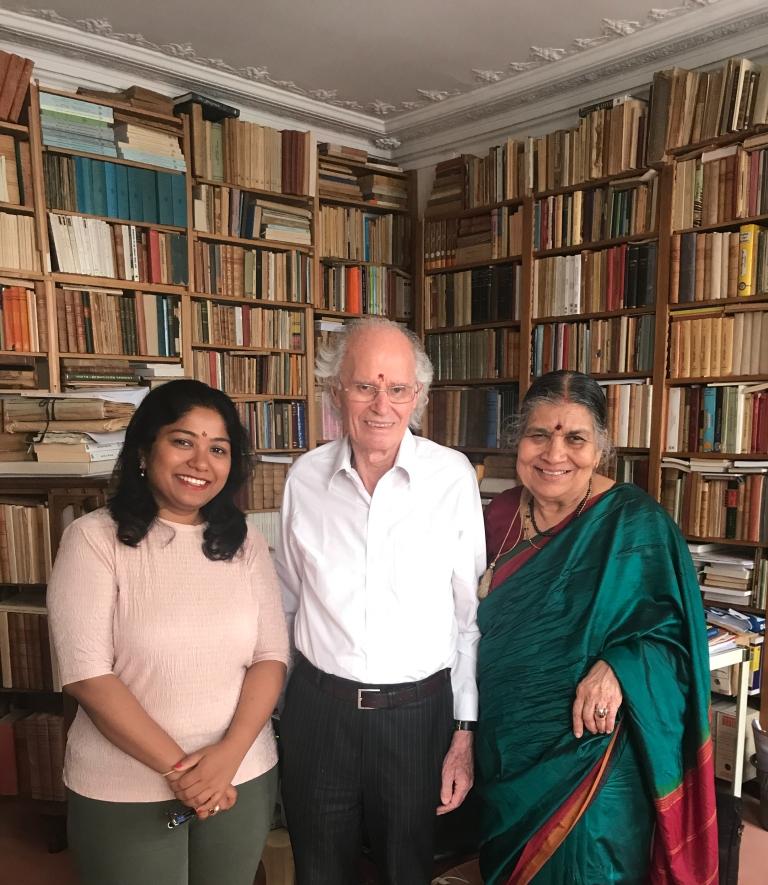 Pierre-Vasundhara-Filliozat-Sanskrit-Day-giftofparis.com