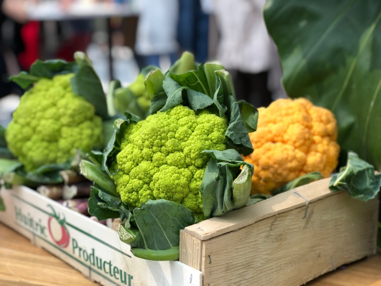 Green-Vegetables-Paris-Michelin-Chefs-Restaurants-Food-Festival-Grand-Palais-Taste-of-Paris-2018-giftofparis.com